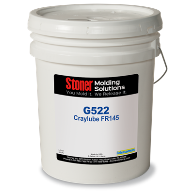 Stoner Molding G522 Craylub FR145 Mold Release Agent