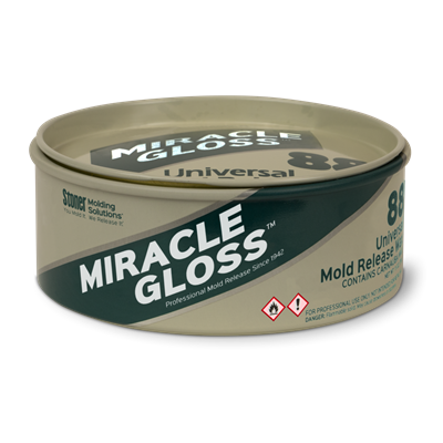 Stoner Molding Miracle Gloss M8811 No. 88 Universal Mold Release Paste Wax